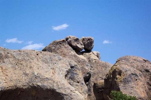 Rock Formation Monkey Rock Mountain Rocks