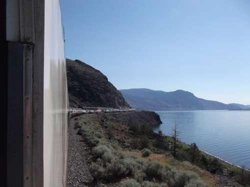 Rocky Mountaineer Train Lake