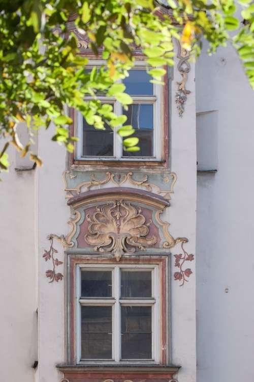 Rococo Facade Style European Art Stucco Painting