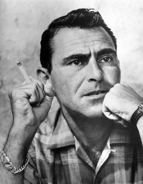 Rod Serling Narrator Screenwriter Playwright