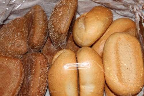 Roll Weizenbroetchen Breakfast Cakes Food
