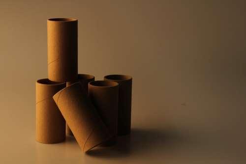 Roll Paper Still Life