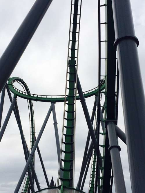 Rollocoaster High Speed High Speed Fast High-Speed