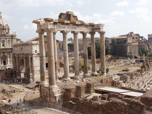 Roman Forum Forum Romanum History Rome Archeology