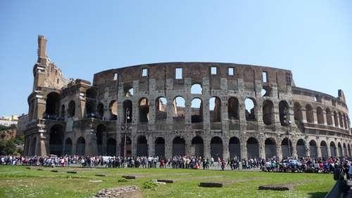Rome Colosseum Roman Coliseum Italy Ancient
