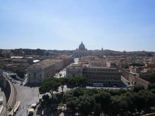 Rome Italy Vatican Castello Castello Sant Angelo