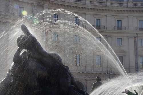 Rome Italy Fountain