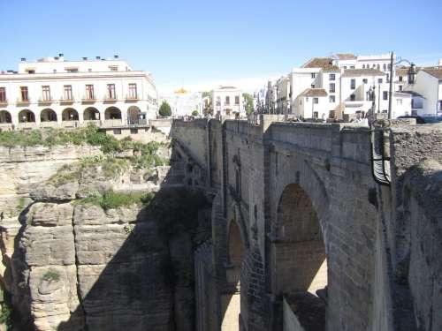 Ronda Andalusia Spain Bridge