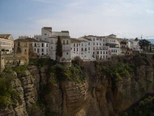 Ronda Spain Europe Town Old Town Street