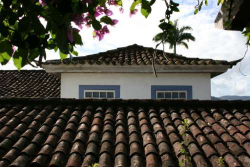 Roofs Colonial Architecture Paraty Roof