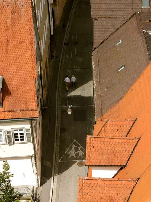 Roofs Road Historic Center Tübingen Truss