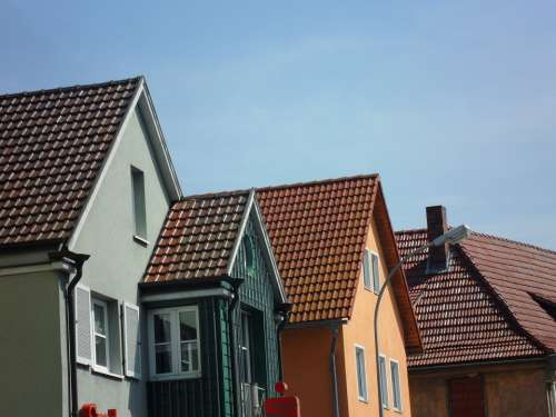 Roofs Houses Real Estate