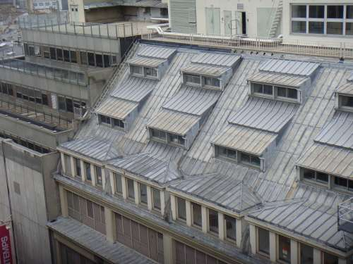 Roofs Skylight Architecture House Paris France