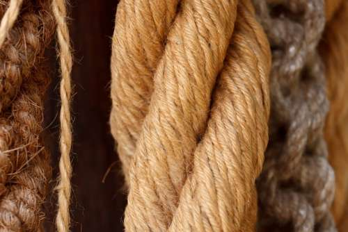 Rope Detail String Cable Strong Strength Line