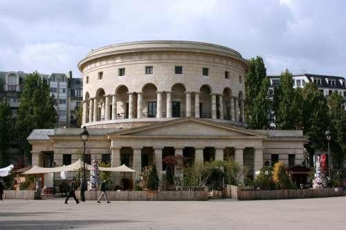 Rotonde Bassin De La Villette Paris