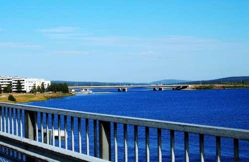 Rovaniemi Finland Nature Lake Landscape Water