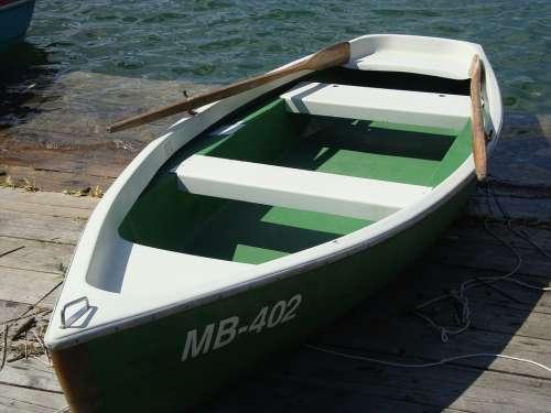 Rowing Boat Boat Lake