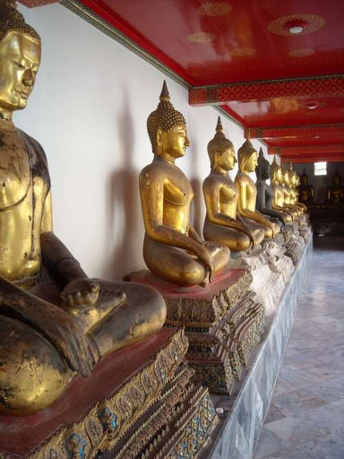 Royal Palace Bank Bangkok Temple Thailand Palace