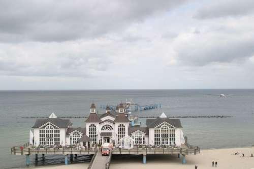 Rügen Island Beach Binz Sea Seaside Resort