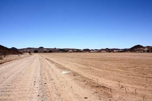 Runway South Africa Desert Sand Hot Dry Drought