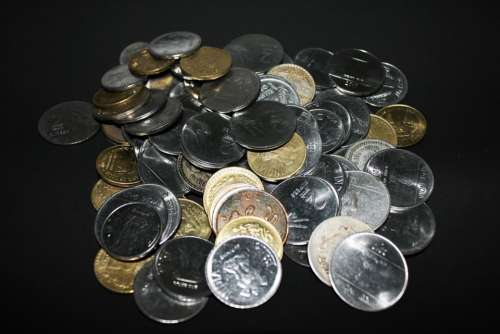 Rupees Money Coins Currency Finance Business