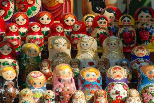 Russian Dolls Matrioshkas Wrist Tradition Memory