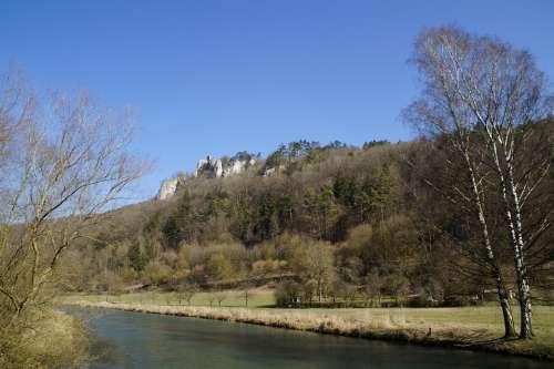 Russians Castle Blaubeuren Swabian Alb Limestone