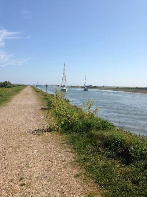 Rye Sunny Sea England