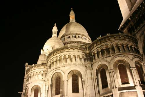 Sacre Coeur Catholic Church Paris