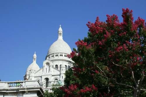 Sacre Coeur Dome Of Church Paris