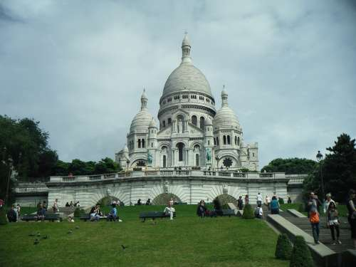 Sacre Coeur France Paris Temple The Basilica