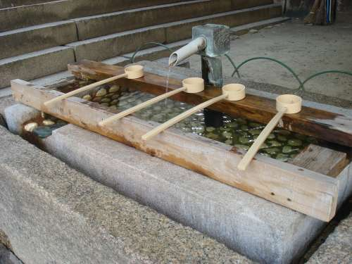 Sacred Water Water Ladle