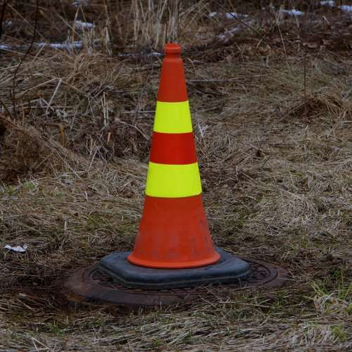 Safety Cone Cone Attention Symbol Warn Dash
