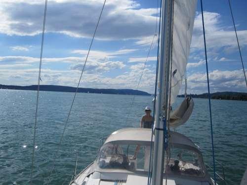 Sail Lake Constance Lake Ship Sailing Boat