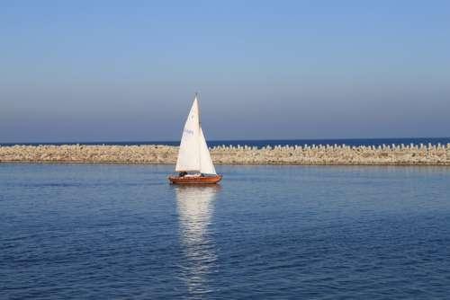 Sailboat The Baltic Sea Sea Port