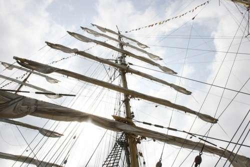 Sailboat Sailing Ship Sail Adventure