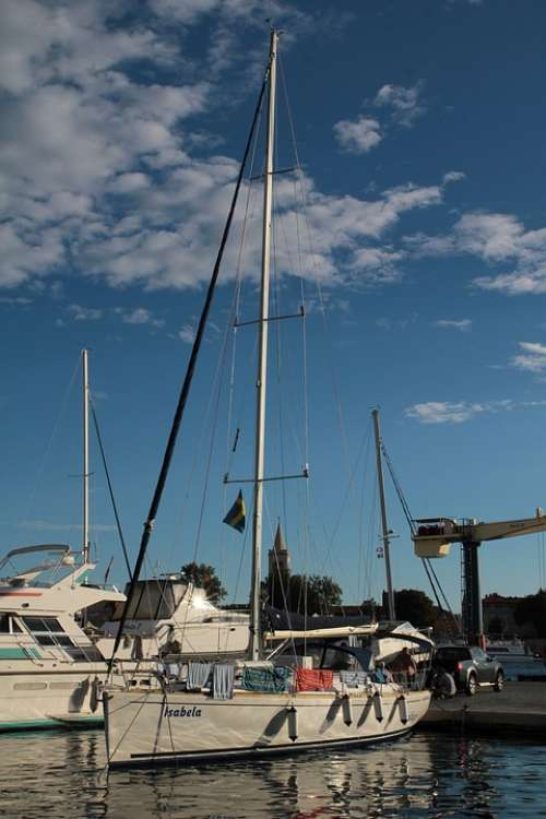 Sailboat Sea Boat Water Charter Ship Tourism
