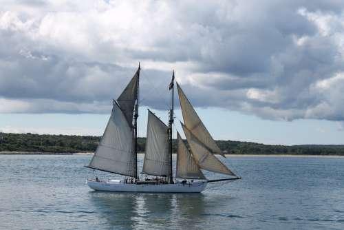 Sailboat Ship Nautical Sailing Boat