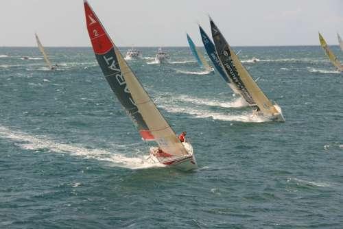 Sailing Sea Figaro Regatta