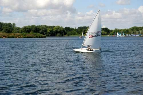 Sailing Boating Sail Sport Yachting Leisure Water
