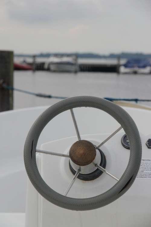 Sailing Water Veersemeer Stir Blue Sailing Boat
