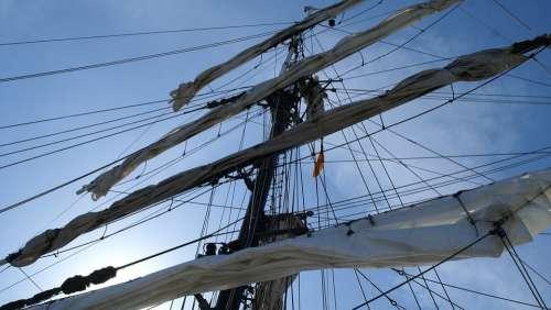 Sailing Vessel Rigging Sail Masts