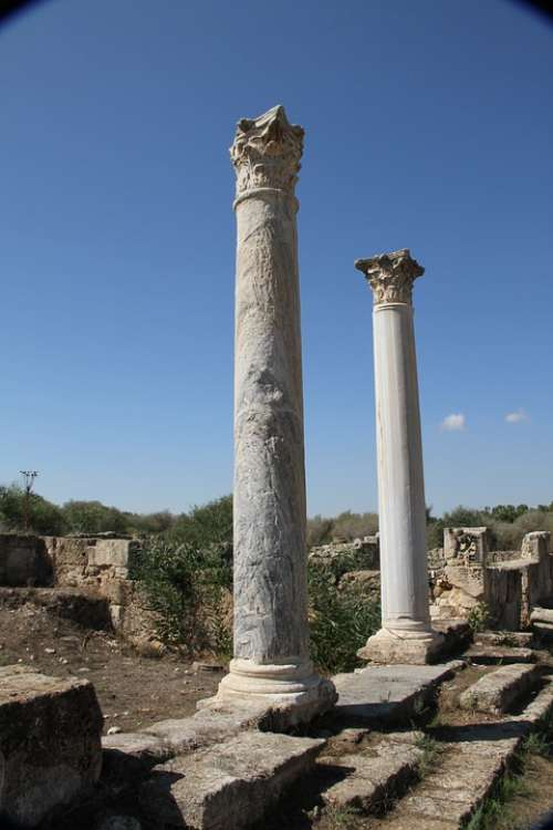 Salamis Cyprus Roman Architecture Archaeological