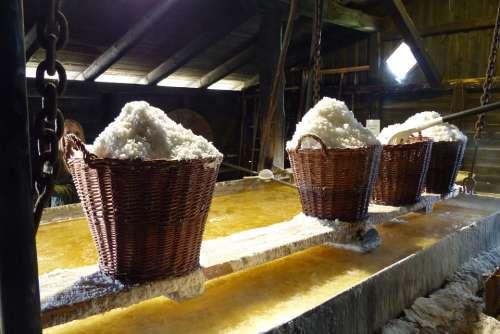 Salt Baskets Industry Tradition Sea Salt