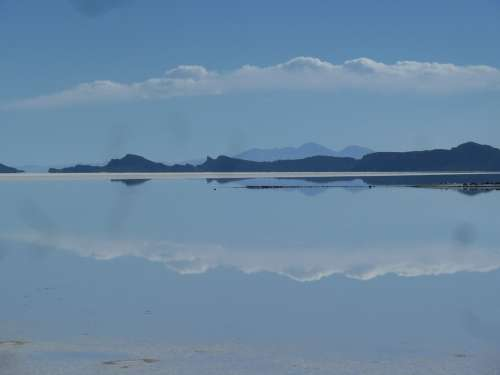 Salt Flats Uyuni South America Desert Salt Lake