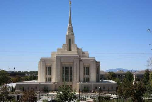 Salt Lake City Church Utah Landmark Religious
