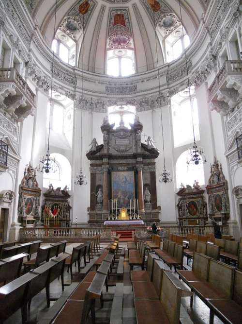 Salzburg Dom Church