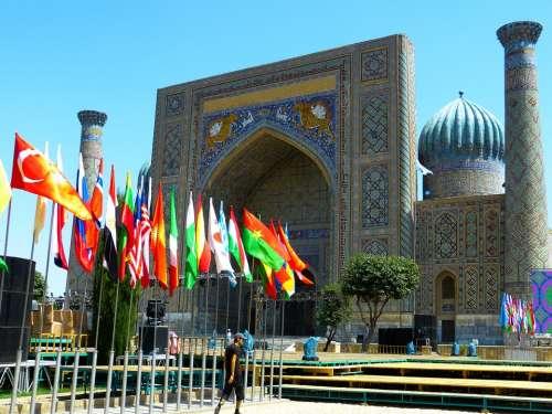 Samarkand Registan Square Uzbekistan