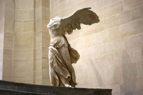 Samothrace Greek Sculpture Marble Louvre Museum