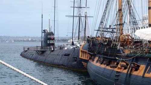 San Diego Submarine Port Ship